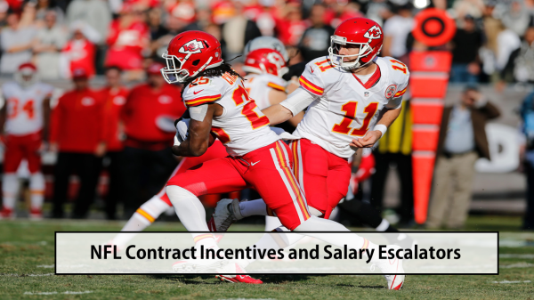 NFL Contract Incentives and Salary Escalators
