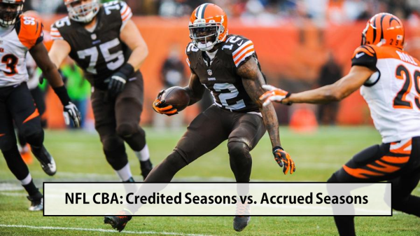 NFL Credited vs. Accrued Seasons