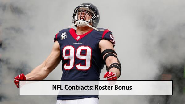 NFL Roster Bonus