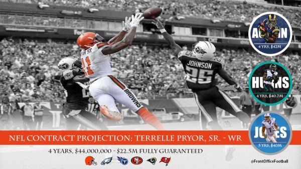 Terrelle Pryor Contract